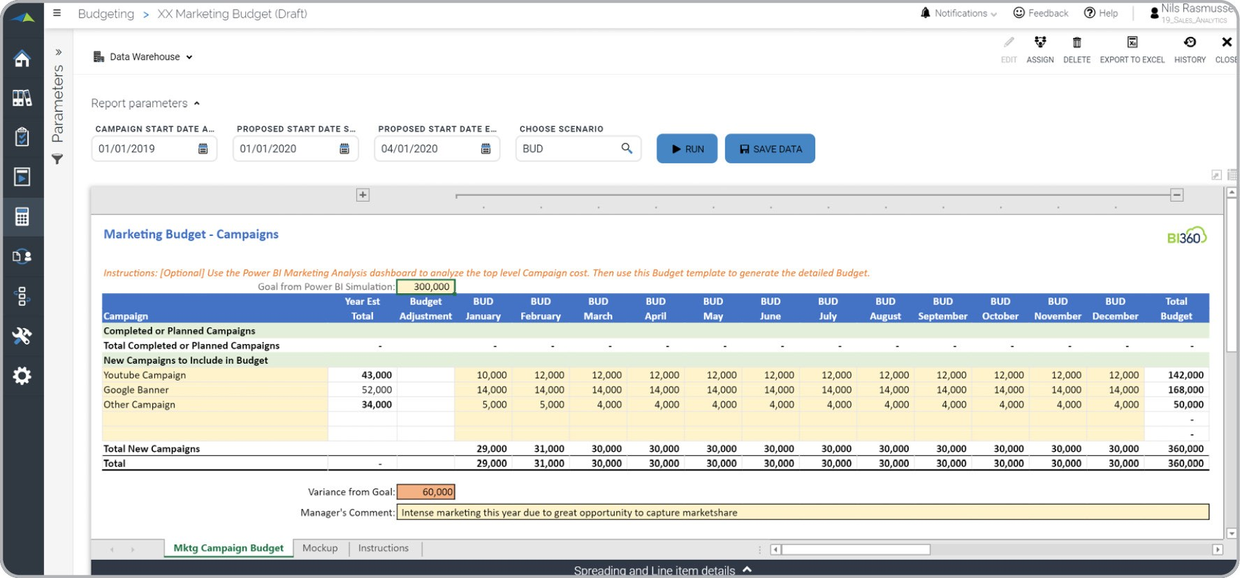 Marketing Plan Budget Template from www.solverglobal.com